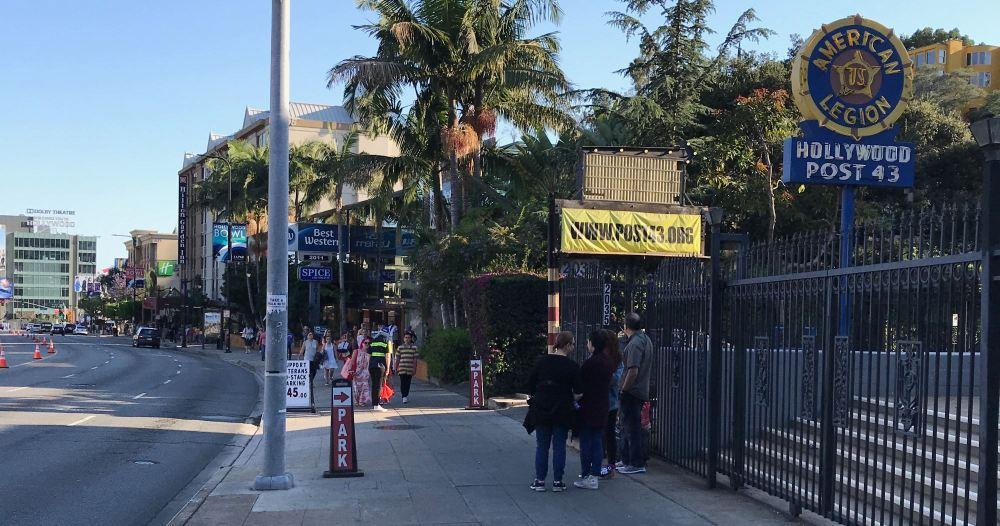 Highland Avenue near the Hollywood Bowl