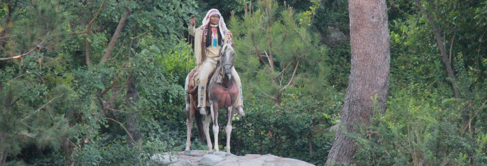 Indian Chief from Mark Twain's Riverboat