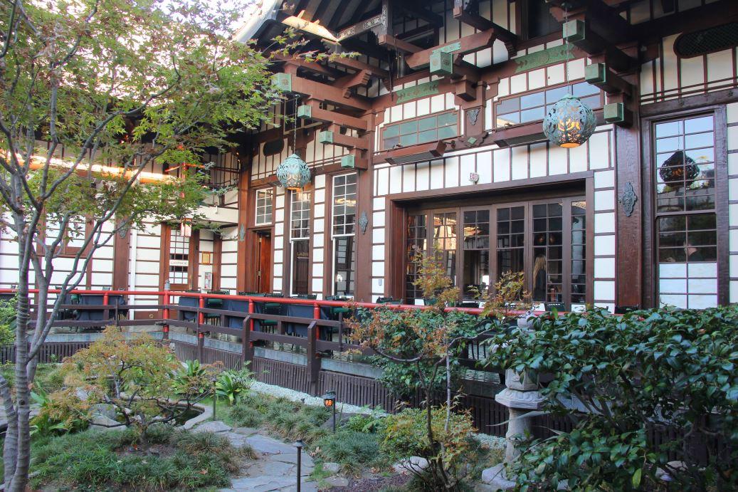 Courtyard at Yamashiro