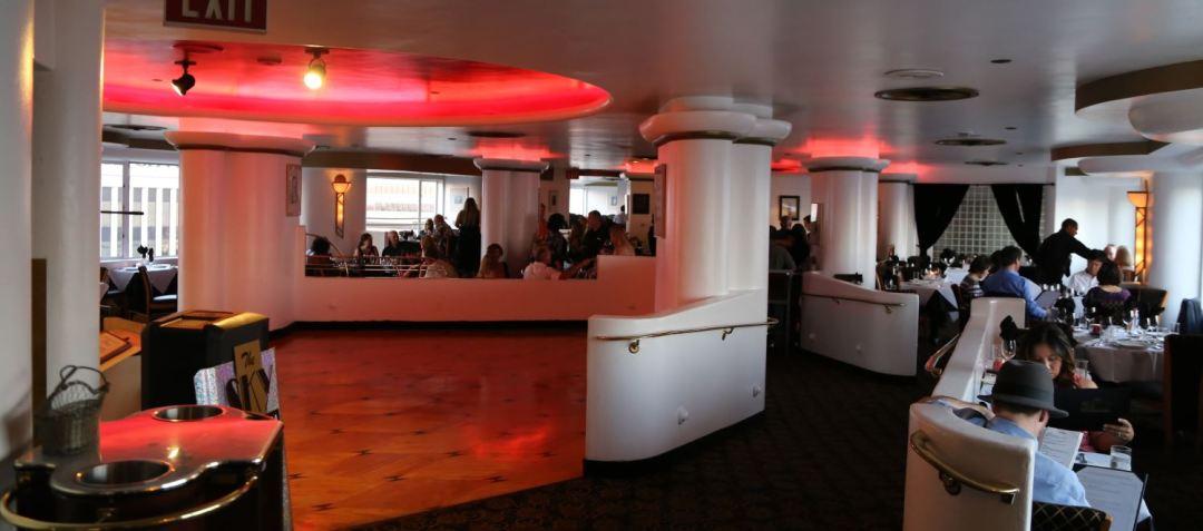 The Skyroom dance floor