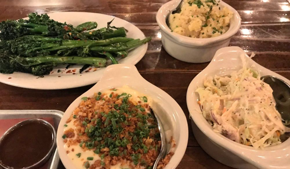 Some side dishes at Maple Block