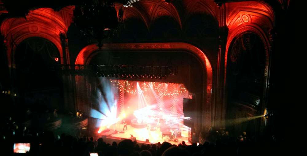 Chris Tomlin performing at the Orpheum Theater