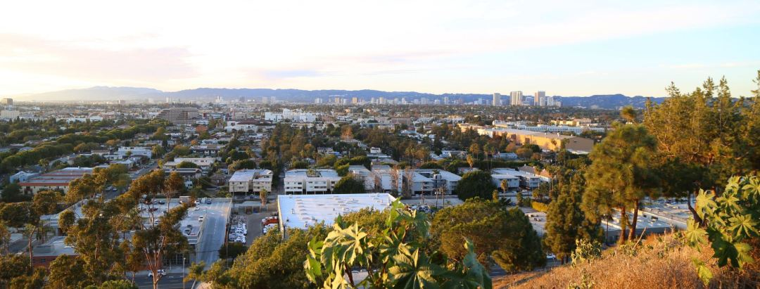 View from Baldwin Hills