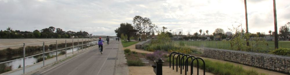 Ballona Creek Bike Path