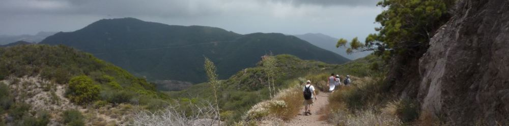 Trail to Sandstone Peak