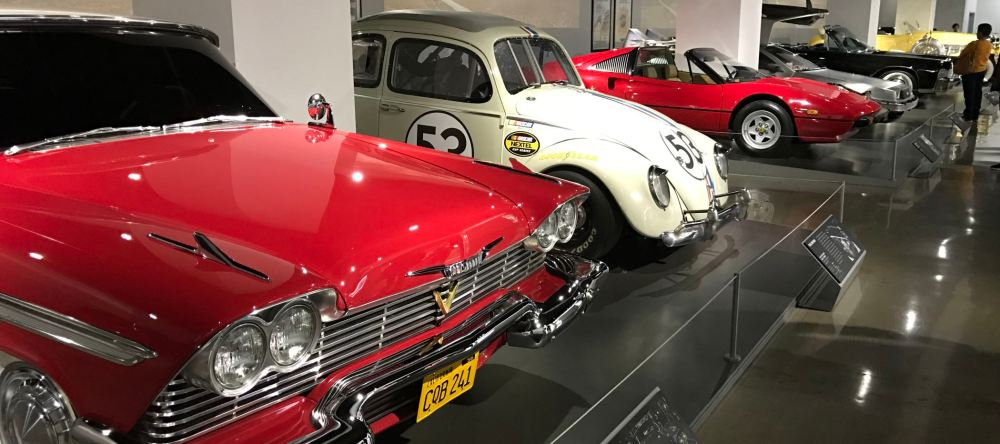 Movie cars at the Petersen Automotive Museum