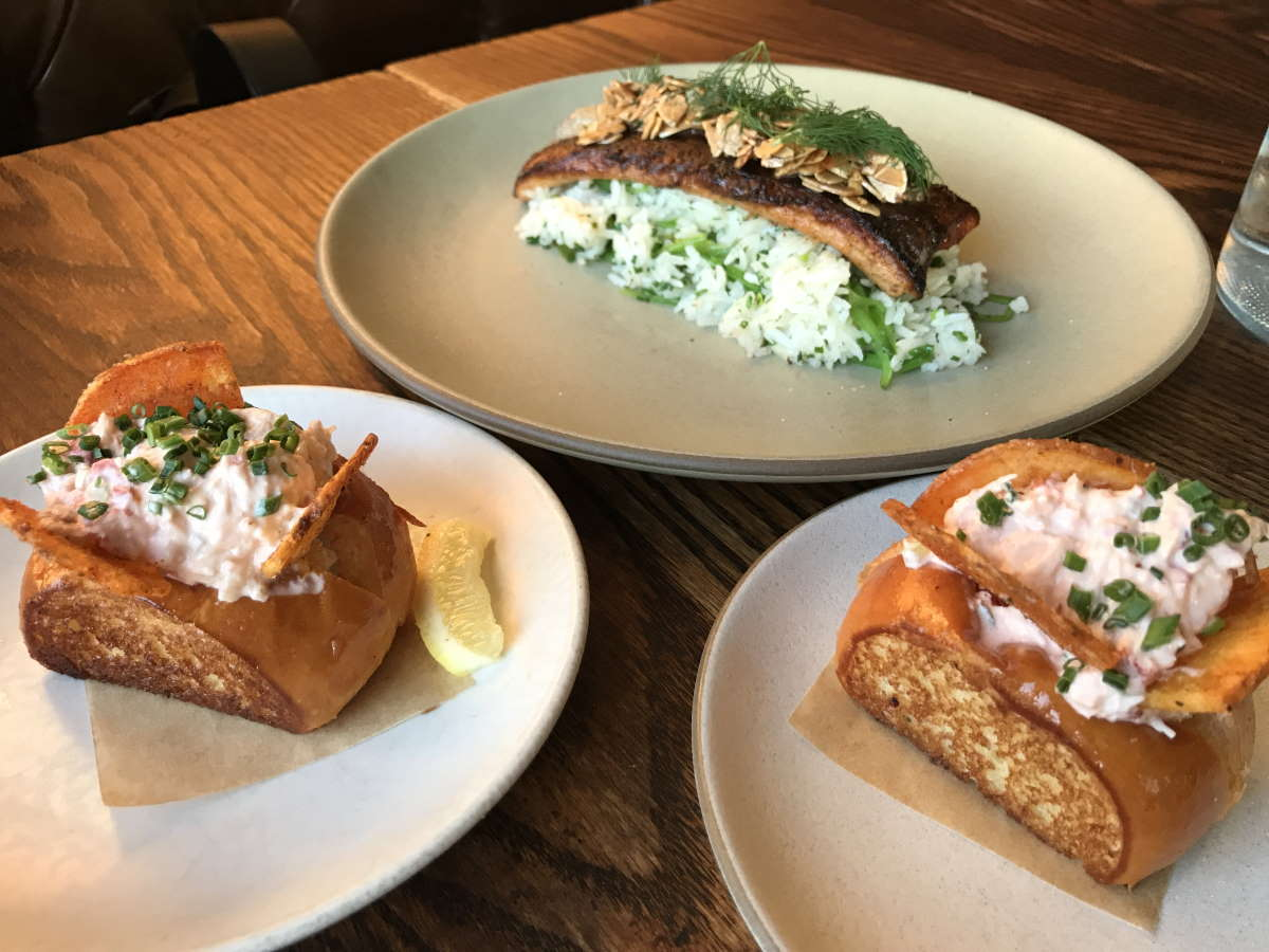 Lobster Rolls and Trout Amandine at Son of a Gun