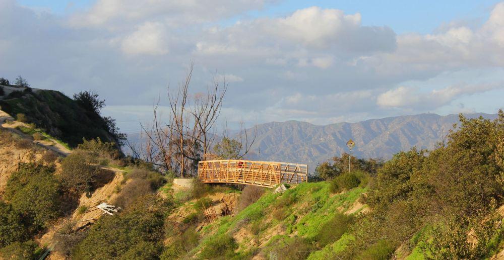 Bridge after Glendale Peak near Griffith Park