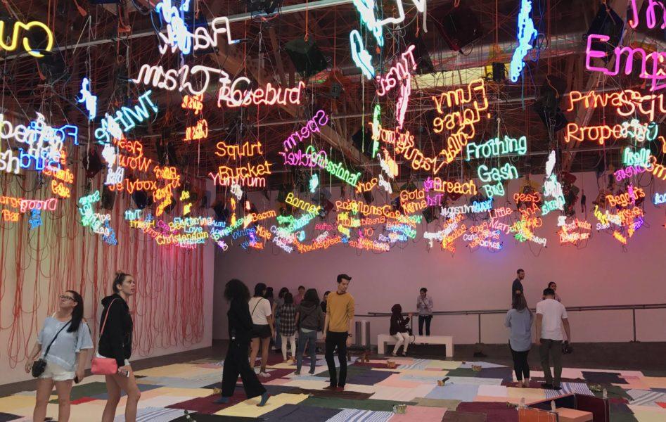 Hauser & Wirth Jason Rhoades installation