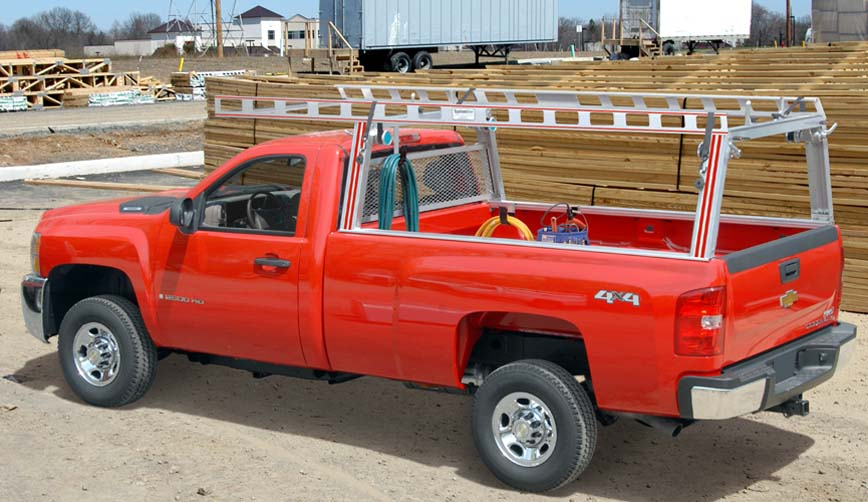 Pick up truck ladder racks  Contractor Rig