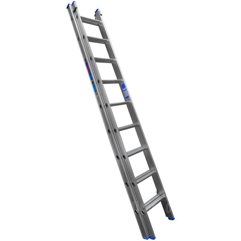 Clow Aluminium Extension Ladder to BS2037 Class 1
