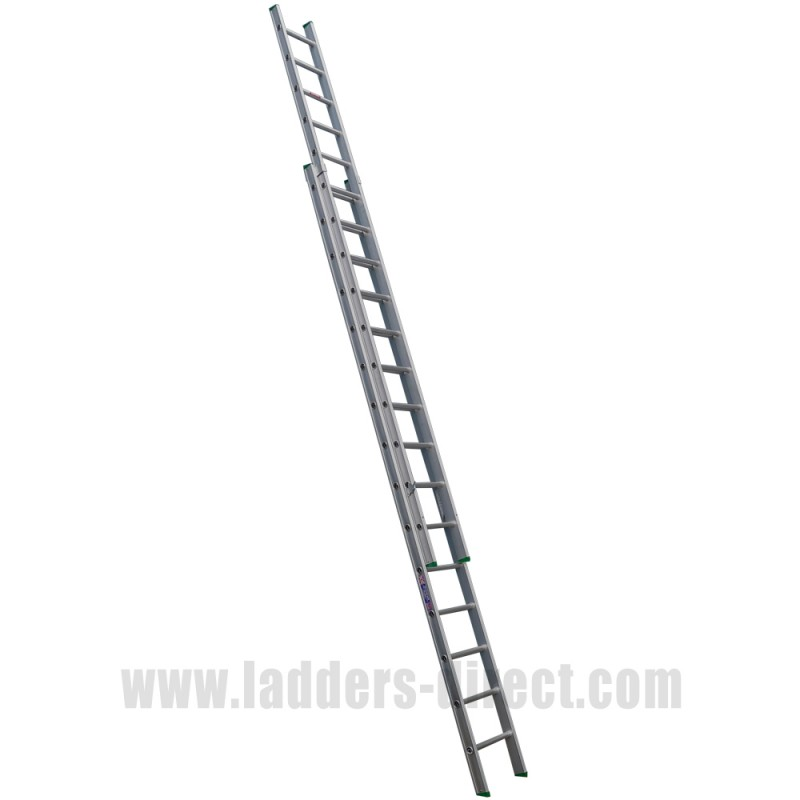 Clow Aluminium Window Cleaners Trade Extension Ladders