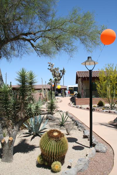 Ghost Ranch Lodge Historic Cactus Garden