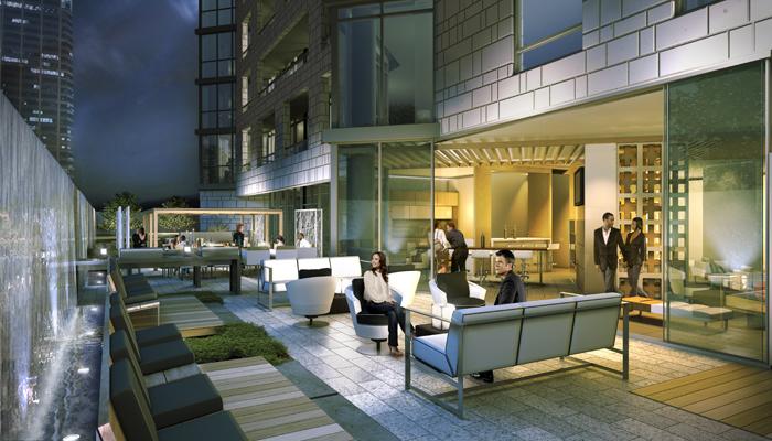 Chaz Yorkville Residential Landscape Design Toronto