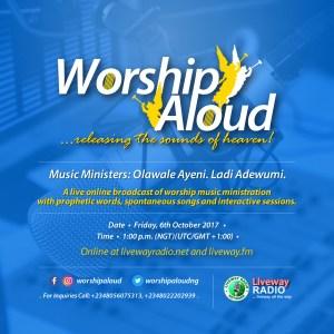 Worship Aloud - Liveway Radio (Oct.2017)