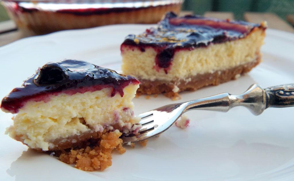Cheesecake ai frutti di bosco la ricetta inglese