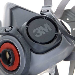 3M Mask 6200 19 In 1 PM2.5 Industrial Gas Mask Half Face Painting Spraying Respirator