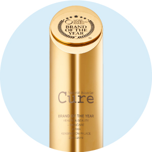 Trophy of Cure Natural Aqua Gel from World Branding Awards