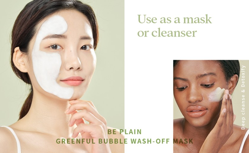 use as a mask or cleanser