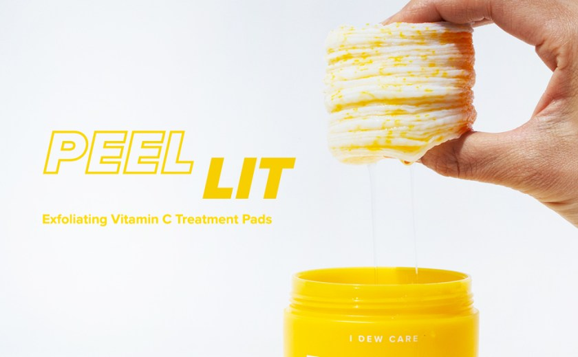 i dew care, peel lit, treatment pads