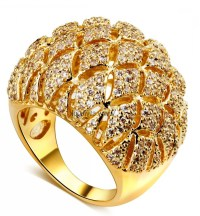 beautiful gold rings images