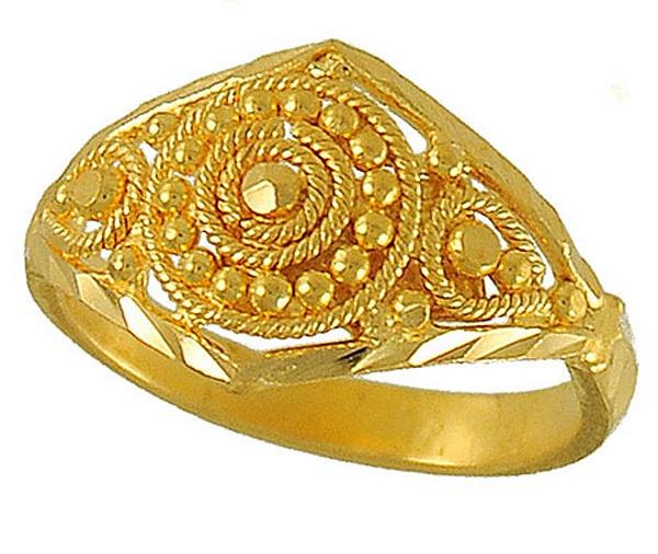 Unique Beautiful Gold Ring Designs Fashion Beauty Mehndi