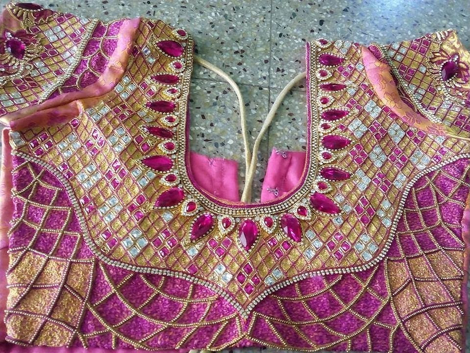 Latest Bridal Blouse Designs Catalogue Fashion Beauty