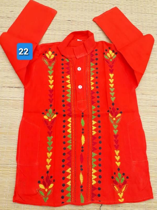 Kantha Stitched Punjabi for Kids
