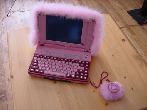 Hello Kitty Pink Laptop