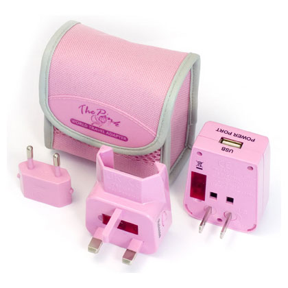 The Pink Multi Travel Adapter