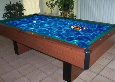 Superbe Unique Contemporary Pool Tables