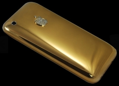 bab213d8fad Ladies  GadgetsSolid Gold iPhone 3G Diamond by Stuart Hughes ...