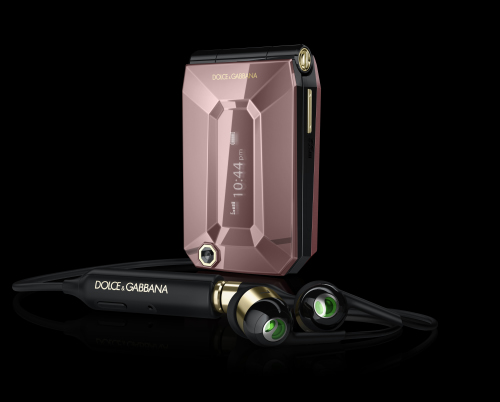 Sony Ericsson Presents Jalou by Dolce&Gabbana Luxury Cell Phone (2)