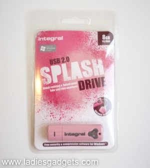 1 Integral Splash 8GB USB 2.0 Flash Drive - Review