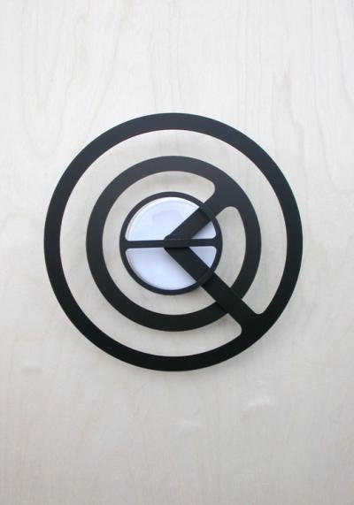 Orbit-r Wall Clock by Dave Keune