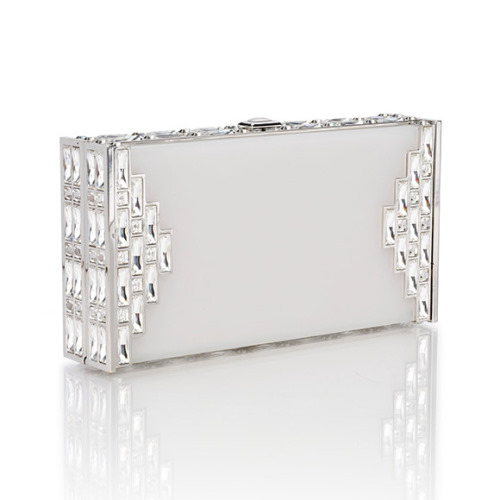 Bolsa De Festa Clutches : Ladies gadgetsjudith leiber frosted lucite handbag
