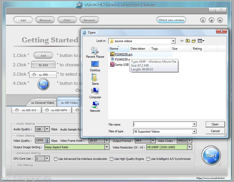 winx hd video converter serial