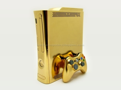 The 24kt Gold Xbox 260 From Computer Choppers