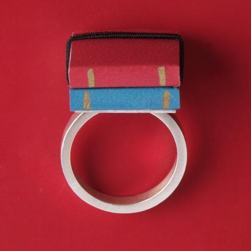 Book Rings by Ana Cardim
