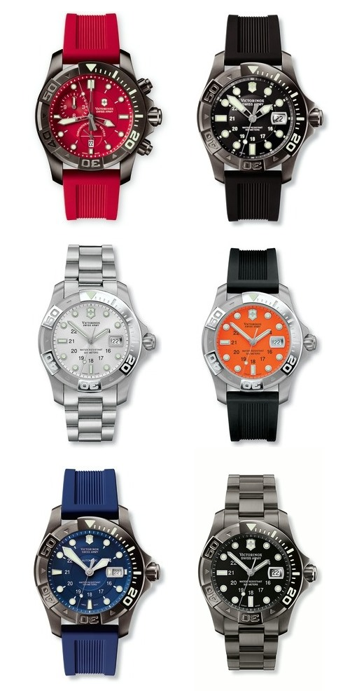 New Victorinox Swiss Army Dive Master 500 Collection