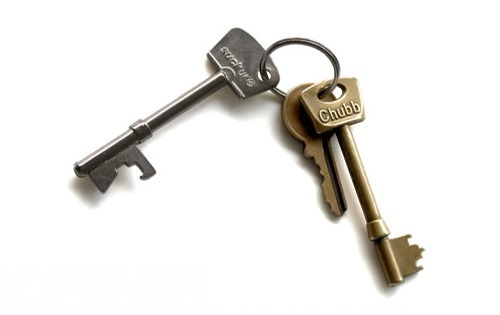 Key Chain Bottle Opener