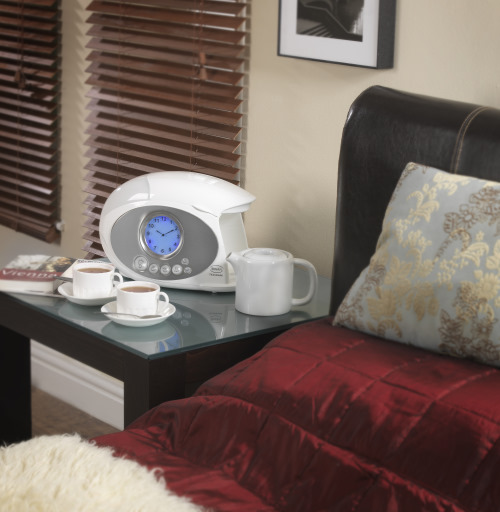 Swan Teasmade Wakes You Up With The Tea or Coffee Ready