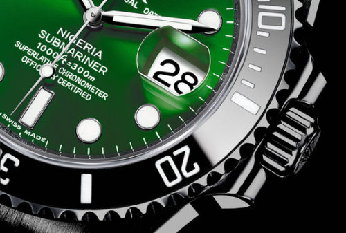 Amosu Rolex Submariner Unique Luxury Mens Watch