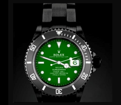 Amosu Rolex Submariner Unique Luxury Mens Watch