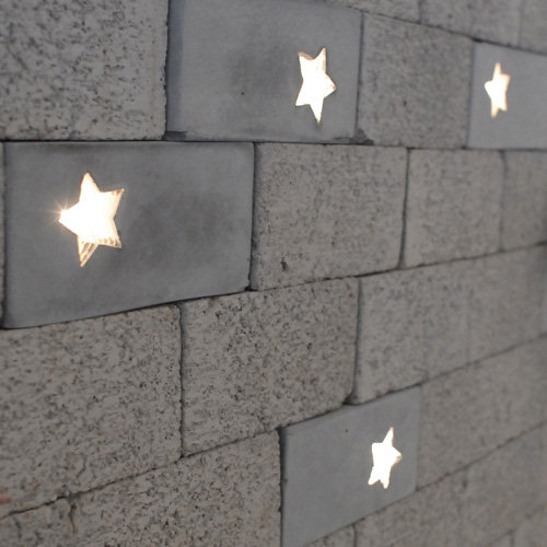 Brick Lights for a Walking Among Stars Feeling