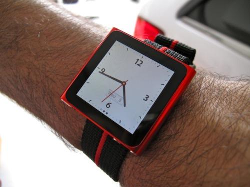 Wear the new iPod Nano as a Wrist Watch