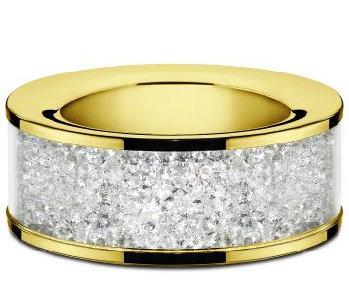 Gold Plated Swarovski Tea Light Holder