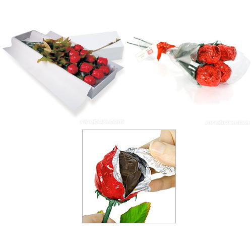Valentines Day Ideas for Her chocolate roses