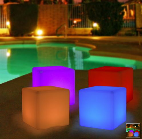 Glowing Decorative Cube