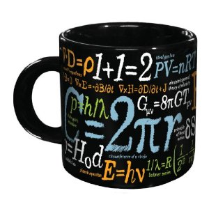 The Math Mug Makes a Nice Gift for Geeks